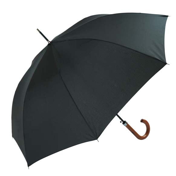 Smart Gentlemens Wooden Handle Walking Umbrella (11011)