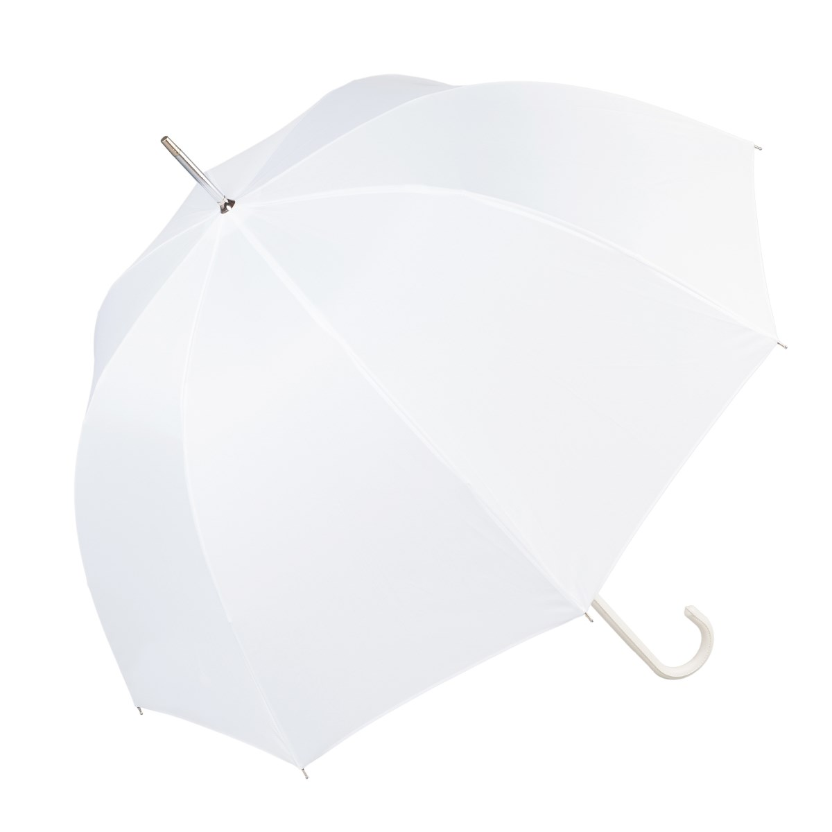 Luxury White Wedding Umbrella (12018/WHI)