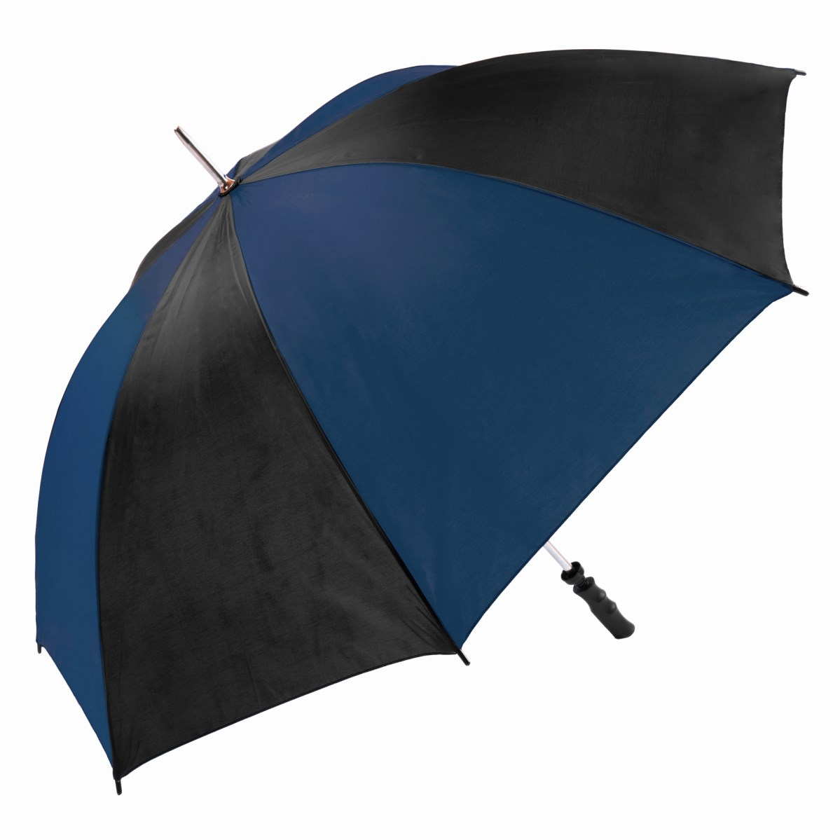 Large Navy & Black Twin Coloured Golf Umbrella (13007)