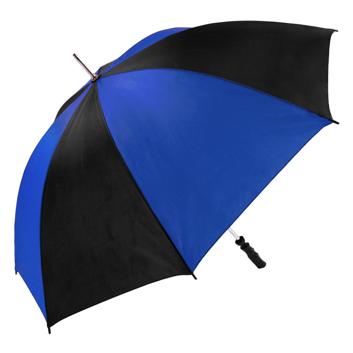 Large Royal Blue & Black Twin Coloured Golf Umbrella (13007)