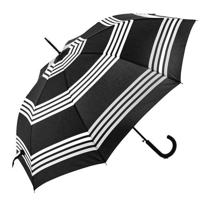 Monochrome Double Bordered (Walker Umbrella - 15001)