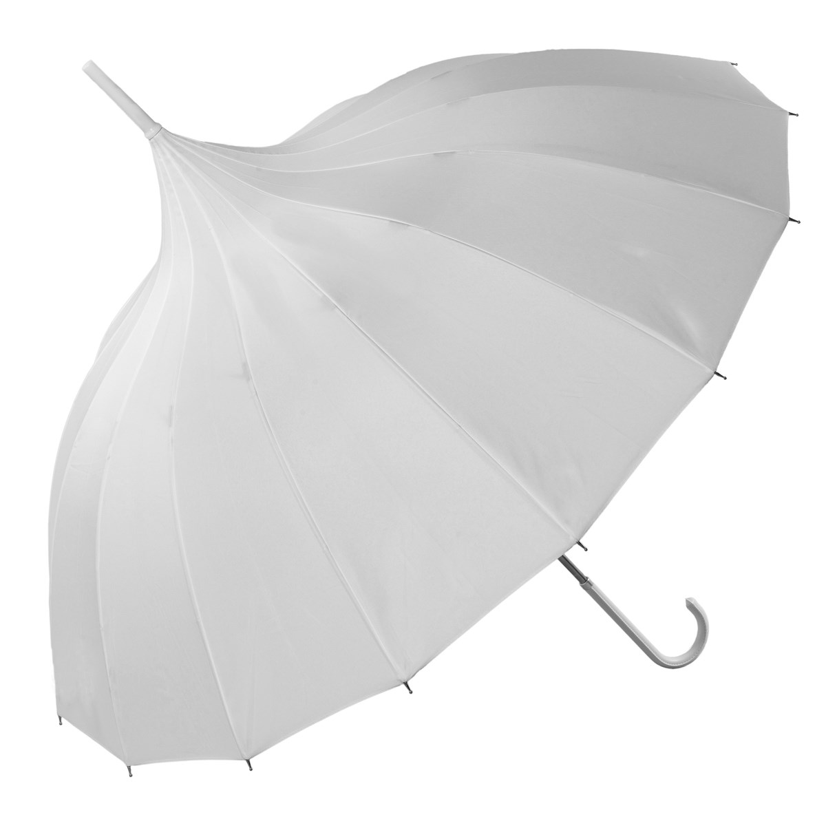 White Pagoda Umbrella (17002/WHI)