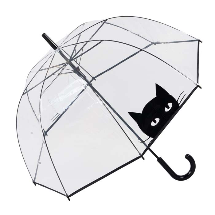 Black Cat (Dome Umbrella - 17011)