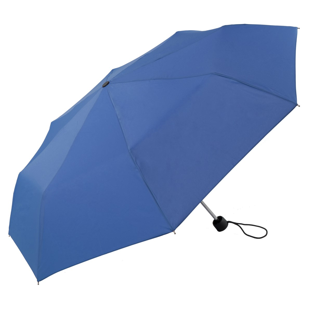 Unisex Bright & Colourful Blue Compact Umbrella (31704)