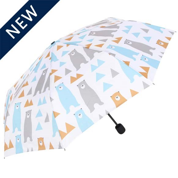 Bear Print Mini Compact Umbrella (31810)