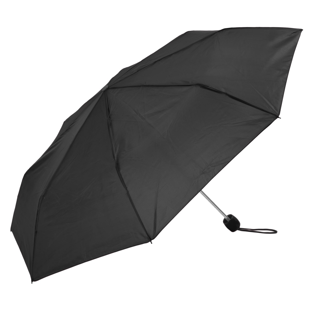 Unisex Black Compact Umbrella (3401B)