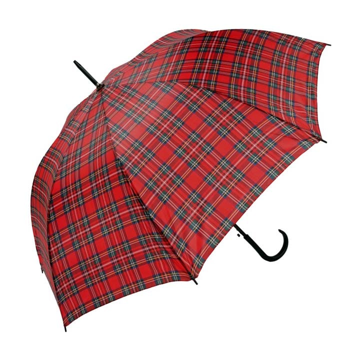 Unisex Classic Royal Stewart Tartan Walking Umbrella (3422-2)