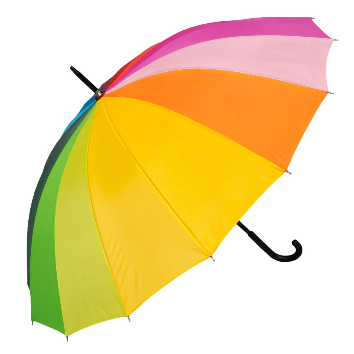 Rainbow Coloured Walking Umbrella (3571)