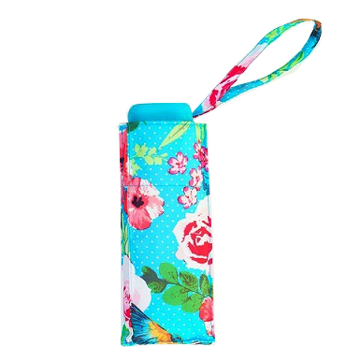 Botanic Floral Print Ladies Mini Compact Umbrella (51023)