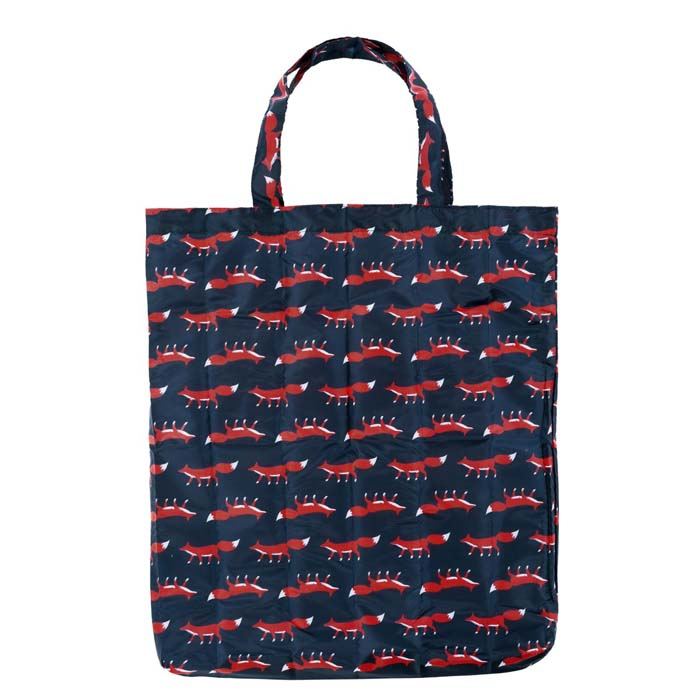 Colourful Creatures Fox Print Reusable Shopping Bag (CB008)