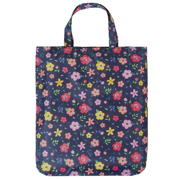 Floral Retro Mix Reusable Shopping Bag (CB016)