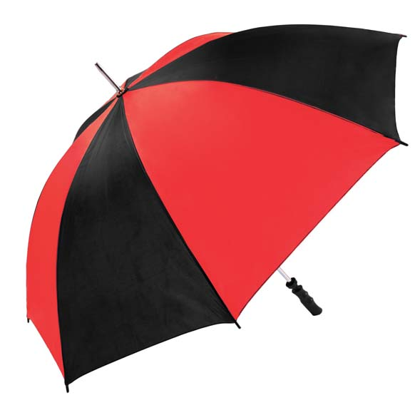 Large Red & Black Twin Coloured Golf Umbrella (13007)