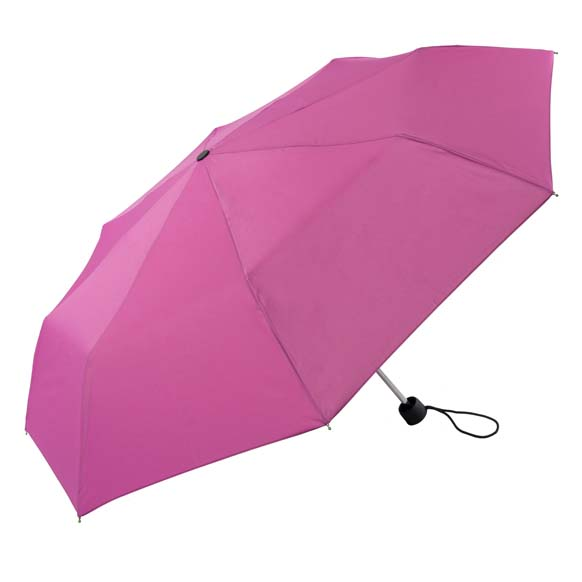 Unisex Bright & Colourful Pink Compact Umbrella (31704)