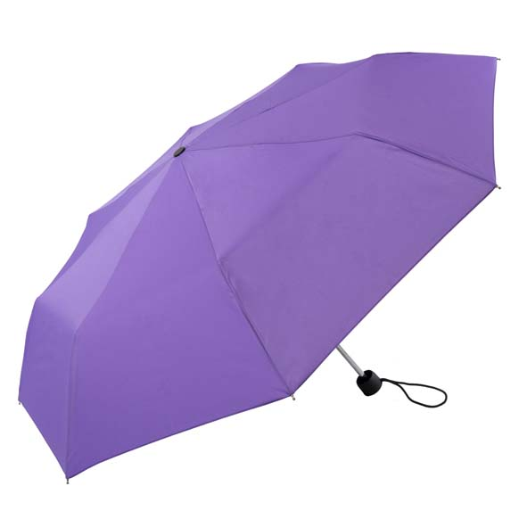 Unisex Bright & Colourful Purple Compact Umbrella (31704)