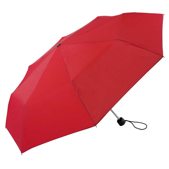 Unisex Bright & Colourful Red Compact Umbrella (31704)
