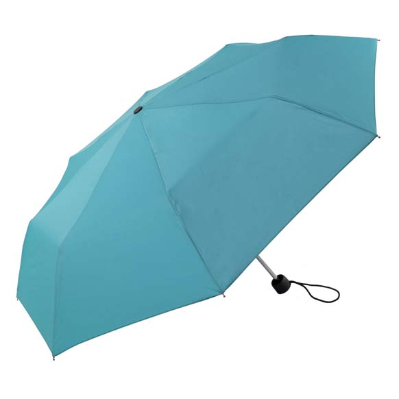 Unisex Bright & Colourful Turqoise Compact Umbrella (31704)