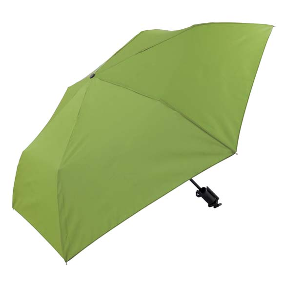 Novelty Green Selfie Stick Compact Umbrella (31705)