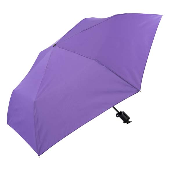 Novelty Purple Selfie Stick Compact Umbrella (31705)