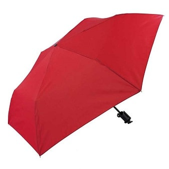 Click to view Novelty Red Selfie Stick Compact Umbrella (31705)