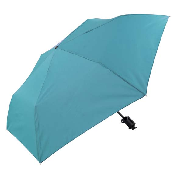 Novelty Turquoise Selfie Stick Compact Umbrella (31705)