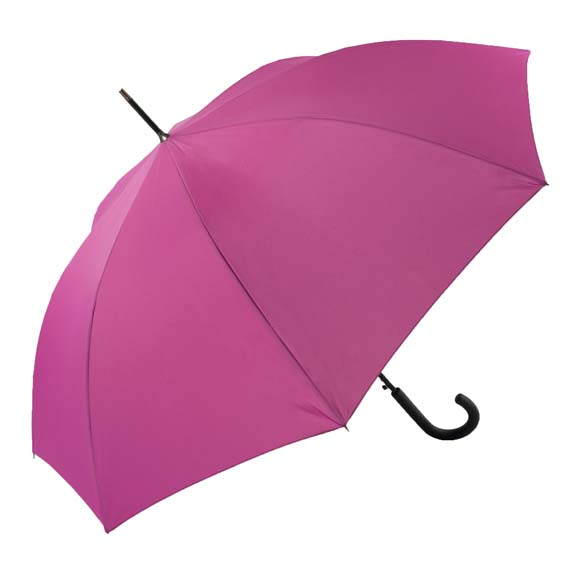 Unisex Bright & Colourful Pink Walking Umbrella (31712)