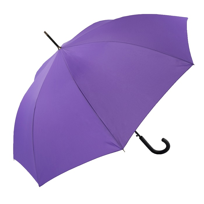Unisex Bright & Colourful Purple Walking Umbrella (31712)