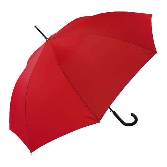 Unisex Bright & Colourful Red Walking Umbrella (31712)