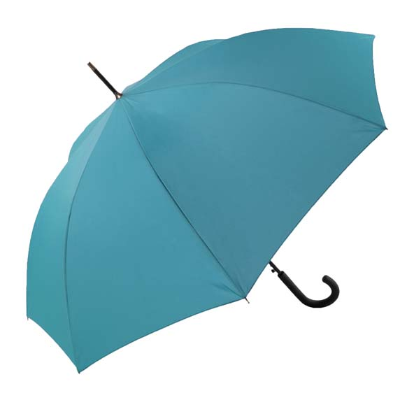 Unisex Bright & Colourful Turquoise Walking Umbrella (31712)