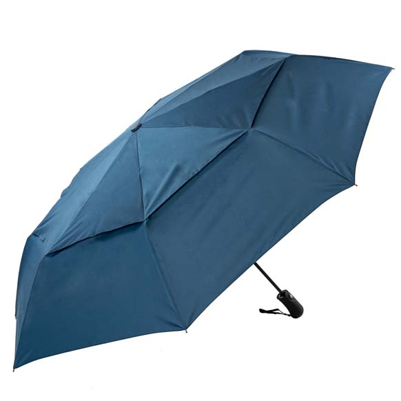 XL Compact Windproof Umbrella Auto open/close Navy  (31713P)