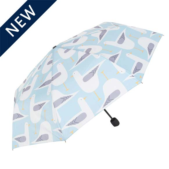 Seagull Print Mini Compact Umbrella (31810)