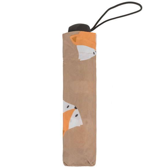 Fox Print Mini Compact Umbrella (31810)