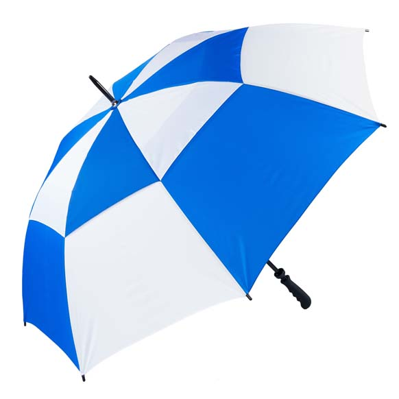 The Gibraltar Golf Umbrella - Royal & White (3475)