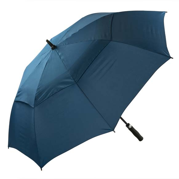 Premium Navy FibreAuto Golf Umbrella (3477P)
