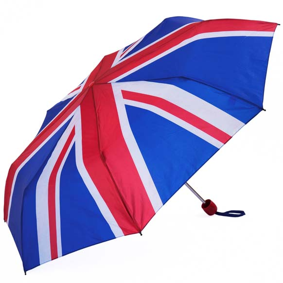 Union Jack Souvenir Compact Umbrella (3478)