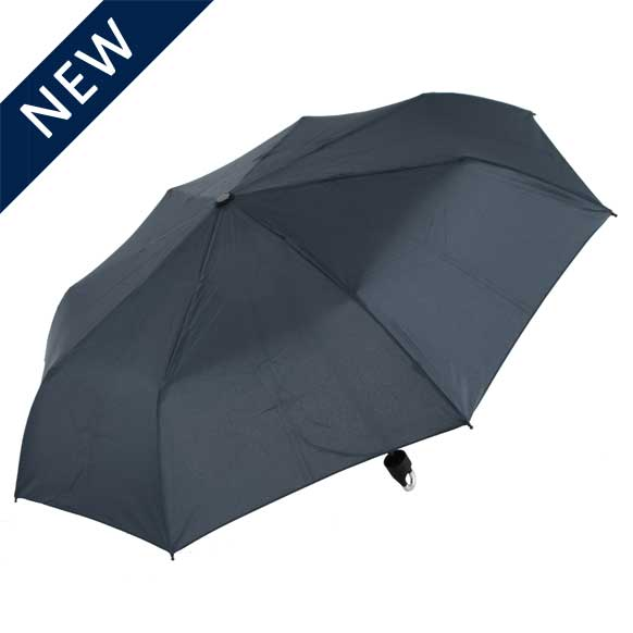 U Handle Navy Umbrella (3602)