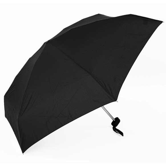 Unisex Black Super Mini Compact Umbrella (51002)