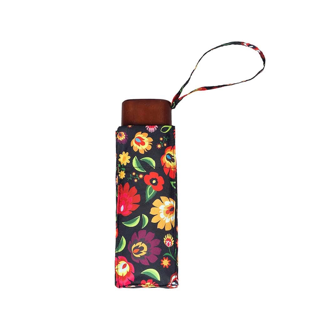 Fashion Floral Ladies Mini Compact Umbrella (51030)