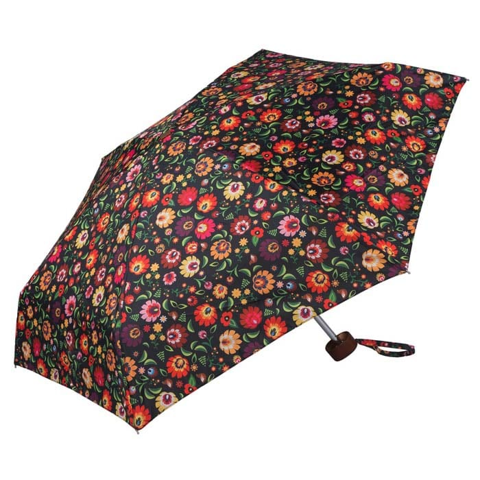 Click to view Fashion Floral Ladies Mini Compact Umbrella (51030)