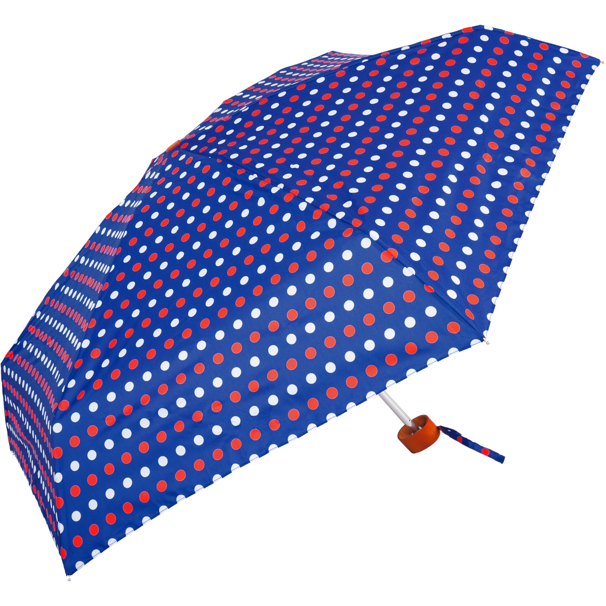 Polka Dot Super Mini Ladies Umbrella (51032)