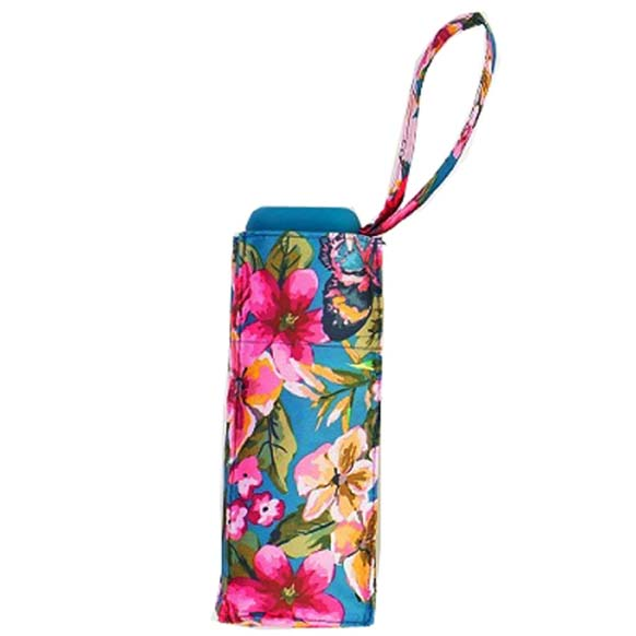 Botanic Floral Ladies Mini Compact Umbrella (51023)