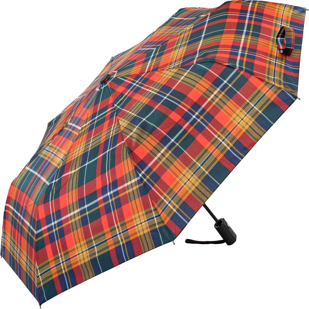 Buchanan Style Tartan Auto Open and Close Umbrella (31905)
