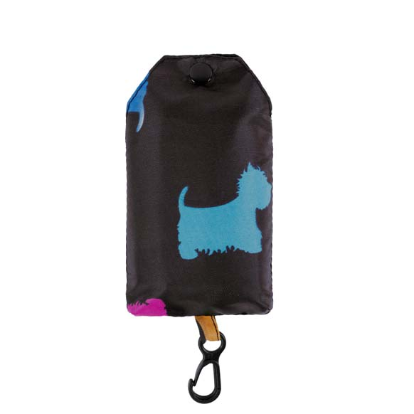 Colourful Creatures Scottish Terrier Print Reusable Shopping Bag (CB008)