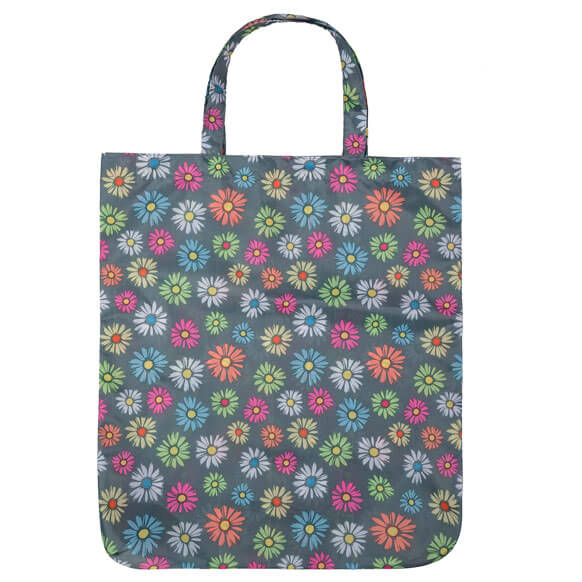 Daisy Flora Multi Colour Reusable Shopping Bag (CB011)