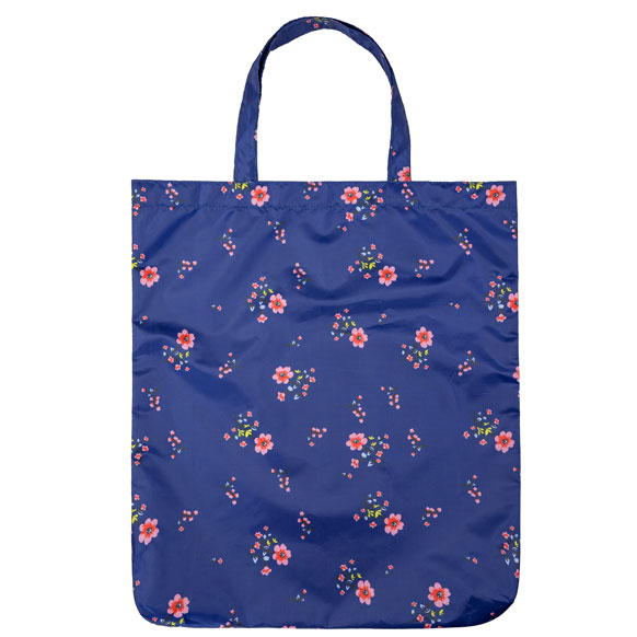 Floral Fashion Print Reusable Shopping Bag (CB012)