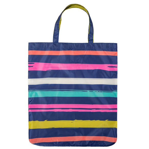 Stripe Fashion Print Reusable Shopping Bag (CB012)
