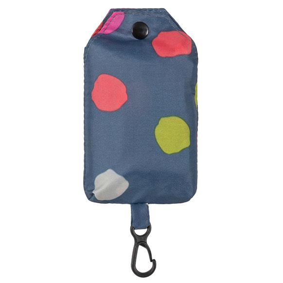 Colourful Polka Dot Reusable Shopping Bag (CB012)