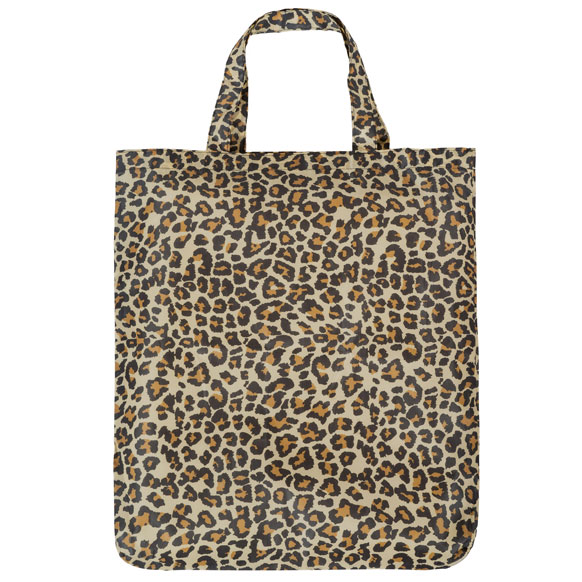 Leopard Print Reusable Shopping Bag (CB017)