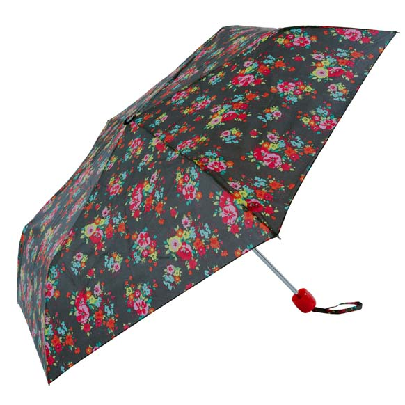 Colour In Floral Ladies Compact Umbrella (CS31090)