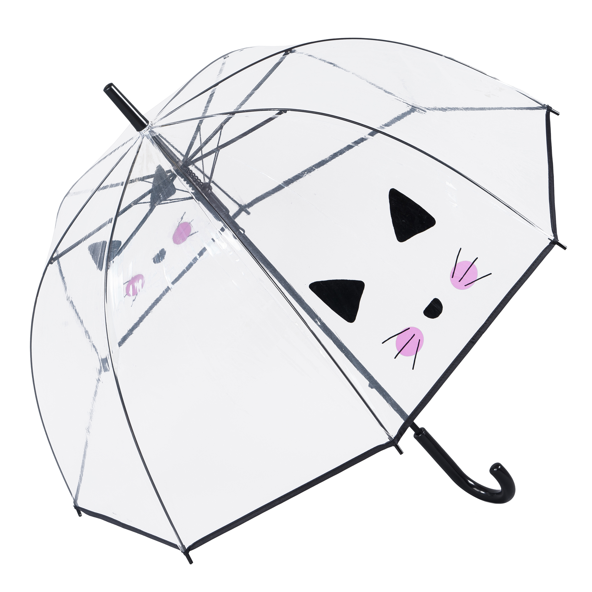 Selfie Cat Clear Dome Umbrella (17011-SC)