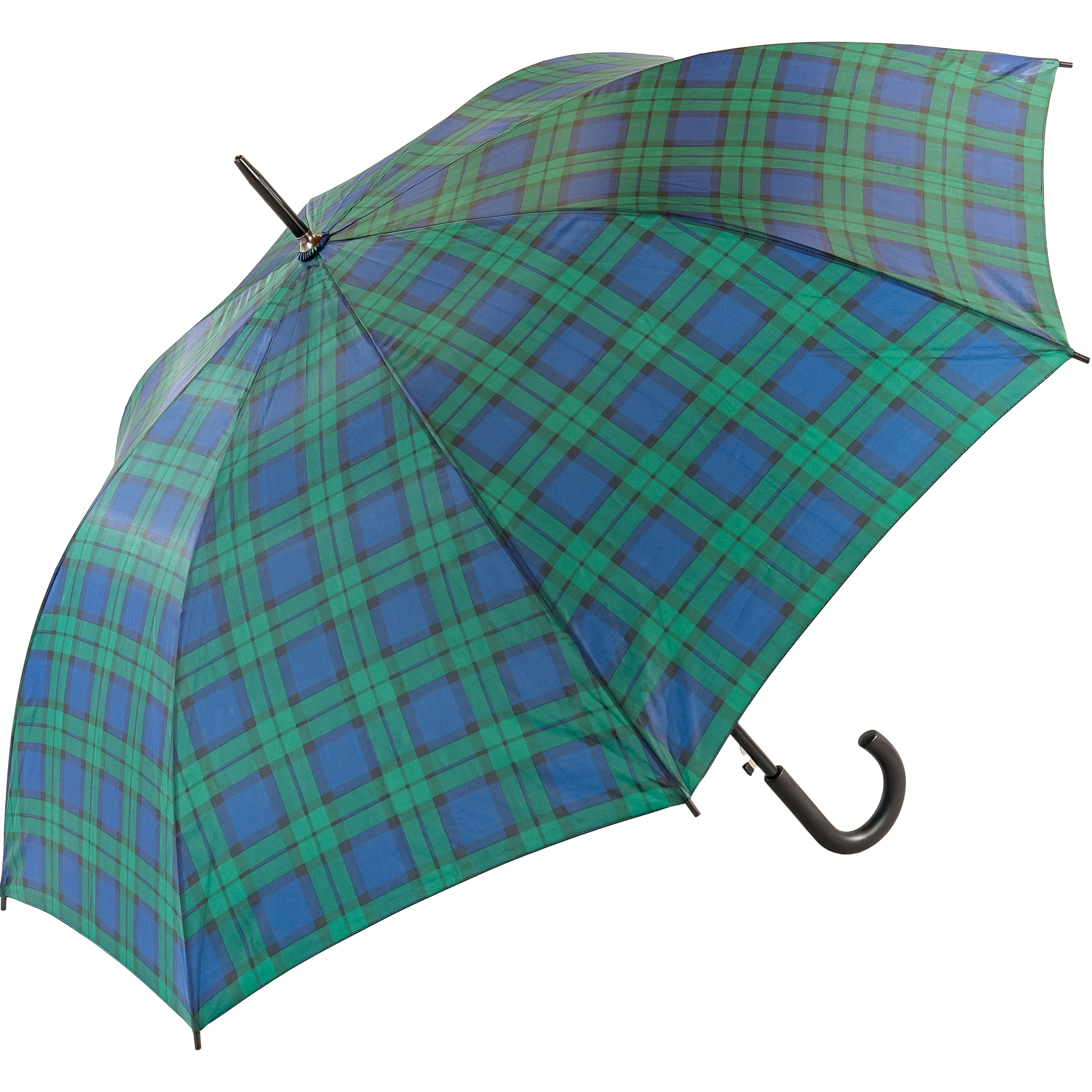 Unisex Black Watch Tartan Walking Umbrella (3422-2)